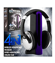 Trademark Games™ Digital 4-in-1 Wireless Headphones