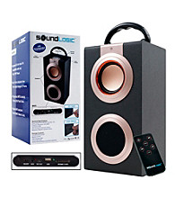 Sound Logic™ Rechargeable Portable Media Speaker with USB inputs