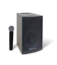 Technical Pro 8'' Battery Powered PA System with Wireless VHF Microphone