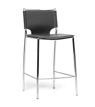 Baxton Studios Set of 2 Montclare Modern Counter Stools