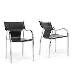 Baxton Studios Set of 2 Harris Modern Dining Chairs