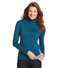 Relativity® Career Petites' Turtleneck Sweater