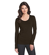 Jones New York Sport® Petites' Scoopneck Tee