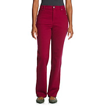Gloria Vanderbilt® Petites' Amanda Colored Denim Jeans