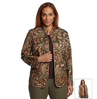 Alfred Dunner® Plus Size Quilted Jacket