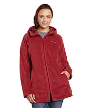 Columbia Plus Size Benton Long Fleece Hoodie