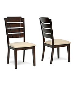Baxton Studios Set of 2 Victoria Modern Dining Chair