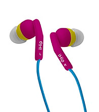iHip® Blue Noise Isolating Silicone Earphones