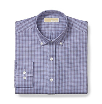 MICHAEL Michael Kors® Men's Blue Dress Shirt