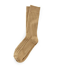 Kenneth Roberts Platinum® Men's Bamboo Wide Rib Dress Socks