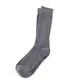 Kenneth Roberts Platinum® Men's Pima Lattice Dress Socks