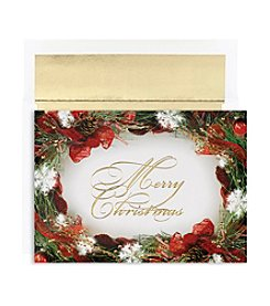 Masterpiece Wreath Border Box of 18 Cards