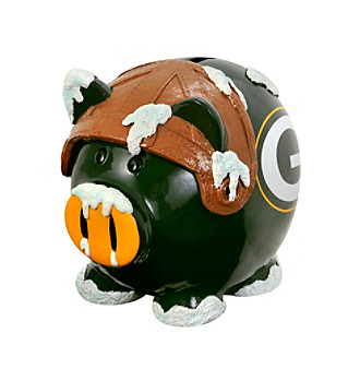 Forever Collectibles® Green Bay Packers Thematic Piggy Bank