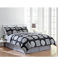 Adel 4-pc. Comforter Set by LivingQuarters
