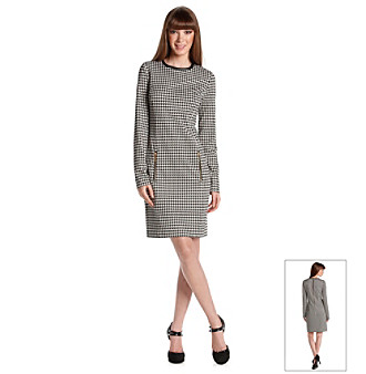 MICHAEL Michael Kors® Houndstooth Dress