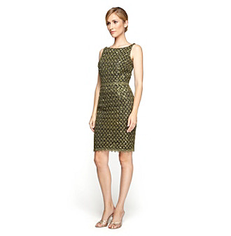 Alex Evenings® Shimmery Lace Dress