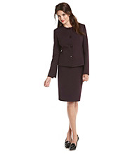 Evan-Picone® Petites' Four-Button Skirt Suit