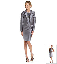 Kasper® Notch Collar Jacket and Matching Dress