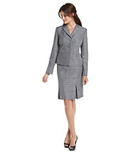 Le Suit® Jacket and Pleated Skirt Suit