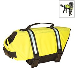 Paws Aboard Yellow Doggy Life Jacket