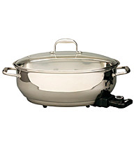 Deni 13.25-qt. Stainless Steel Electric Roaster