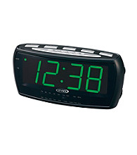 Jensen Large Display AM/FM Alarm Clock Radio