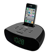Jensen Docking Digital Clock Radio for iPod® & iPhone®