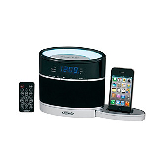 Jensen Docking Digital Music System for iPod® & iPhone® with Night Light