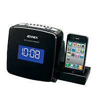 Jensen Docking Digital CD Clock Radio for iPod® and iPhone®