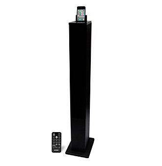 Jensen Universal Docking Digital Music Tower for iPod® and iPhone®