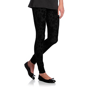 Grane® Black Footless Legging Tights