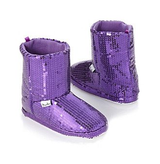 Mambo® Solid Sequined Slipper Boots
