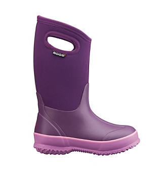 "Bogs® Girls' ""Classic Solid Handle"" Waterproof Boots"