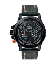 ESQ Movado® Black Men's Fusion® Watch