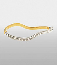Auragento Crystal Bangle Bracelet