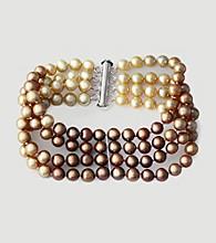 Effy® Freshwater Cultured Pearl Bracelet