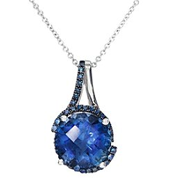 Effy® London Blue Topaz Pendant