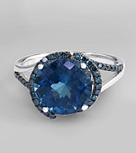 Effy® London Blue Topaz Ring