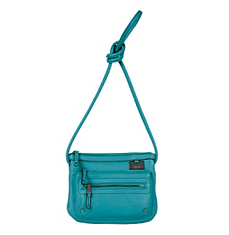 Tignanello® Teal Item Crossbody Double Zip Organizer