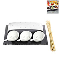 Luigi Bormioli Slate & Porcelain 8-pc. Skewer Serving Set