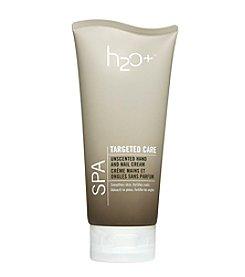 H2O Plus Spa Unscented Hand & Nail Cream 6-oz.