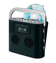 Jensen CD-470C Portable Stereo Compact Disc Player with AM/FM Radio