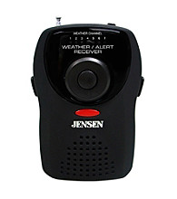 Jensen Portable Weather Receiver