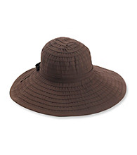 San Diego Hat Co.® Women's Ribbon Large Brim Hat with Bow