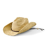 San Diego Hat Co.® Women's Natural Raffia Cowboy hat