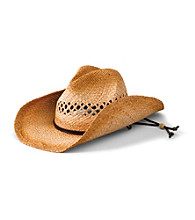 San Diego Hat Co.® Women's Tea Stained Raffia Cowboy Hat