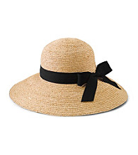 San Diego Hat Co.® Women's Natural Raffia Large Brim Hat