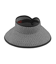 San Diego Hat Co.® Women's Ultrabraid Large Brim Visor
