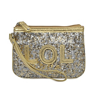 Nine West® Text Imization Wristlet - LOL Gold