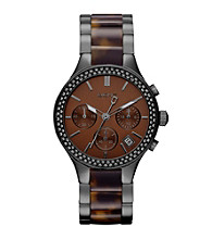 DKNY® Brown Broadway Watch